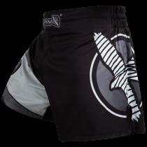 Hayabusa Kickboxing Shorts - Black/Grey