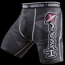 Metaru 47 Silver Compression Shorts - Black